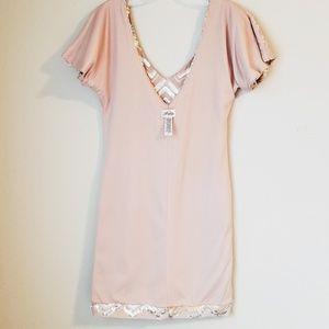 Profile Dresses - PROFILE Sequin Chevron Mini Dress